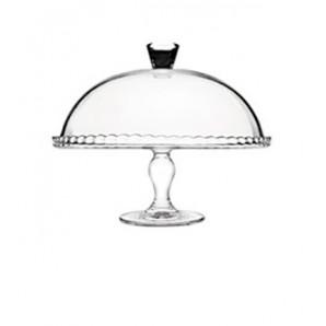 Campana Cristal con Pie 32 cm