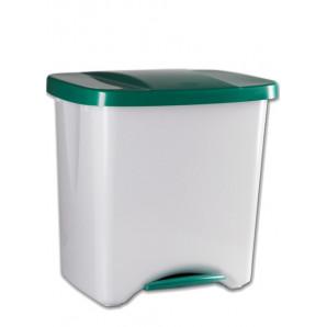 Cubo con pedal 40 L ecológico