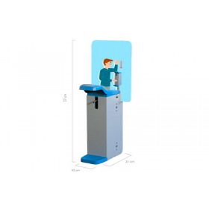 Dispensador codo para gel hidroalcohólico