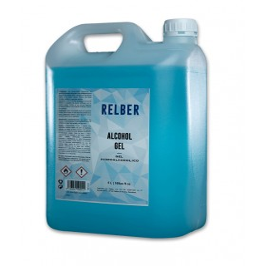 Gel hidroalcohólico garrafa 5 L