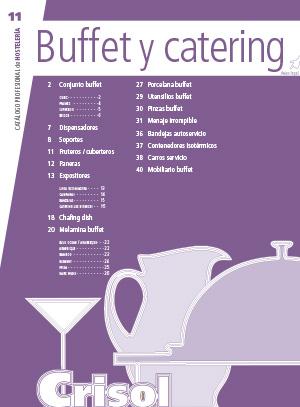Ver Catalogo Buffet y catering 11