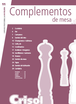 Ver Catalogo Complementos de Mesa 11