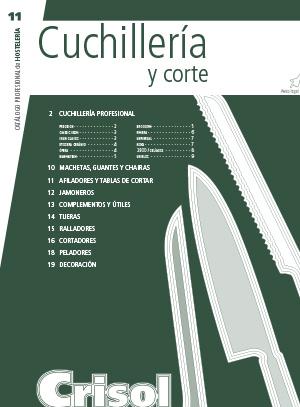 Ver Catalogo Cuchilleria y corte 11