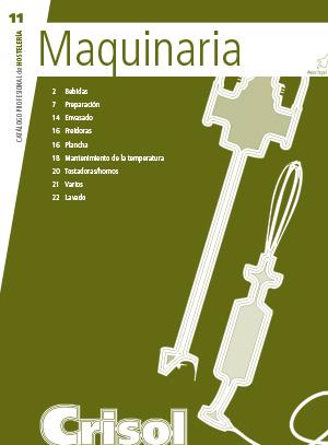 Ver Catalogo Maquinaria 11