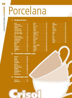 Ver Catalogo Porcelana 11
