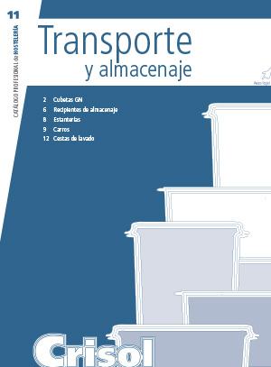 Ver Catalogo Transporte y almacenaje 11